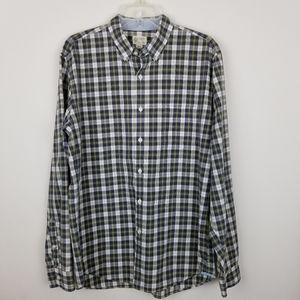 J Crew Lg Plaid Long Sleeve Button Down Shirt